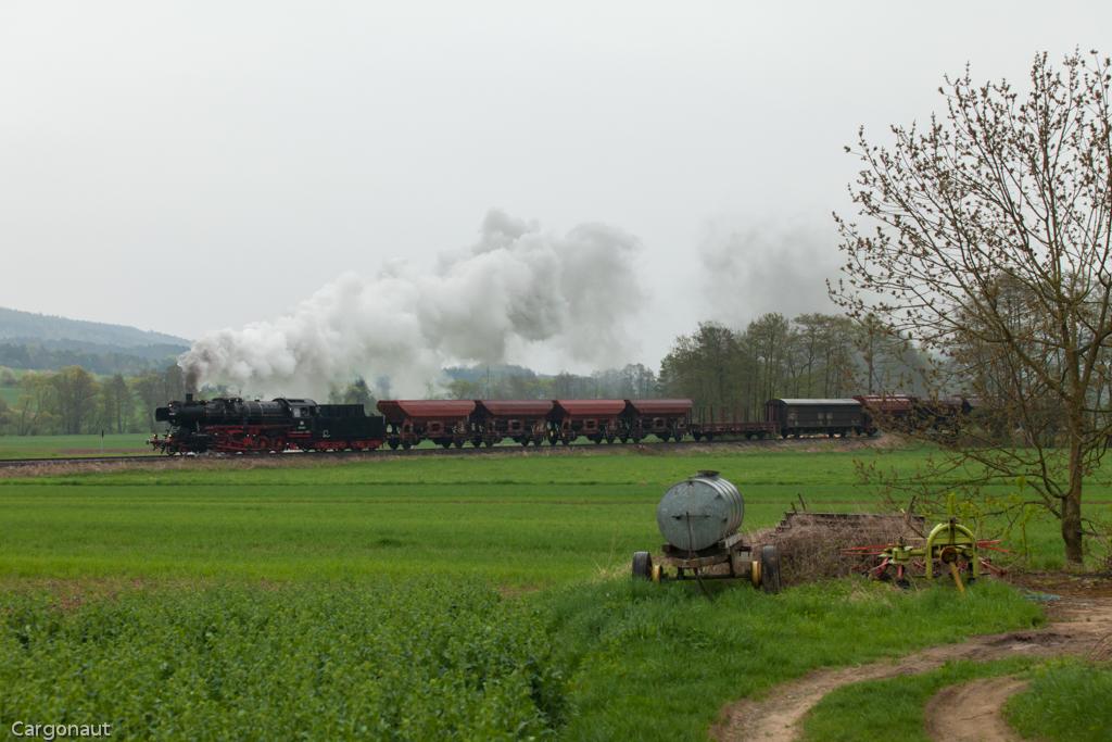 Dampf in der Rhön - Eisenbahnforum Nordostbayern